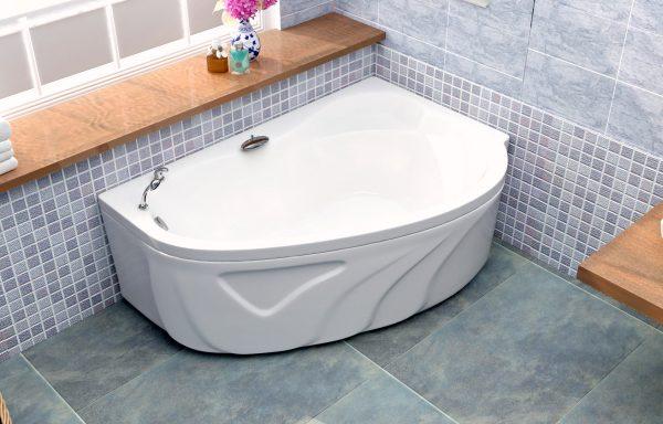 Акриловая ванна BellSan Сабина 1650x1100x620