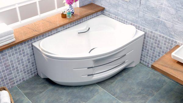 Акриловая ванна BellSan Индиго 1680х1100x715
