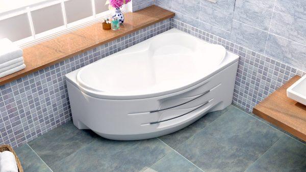 Акриловая ванна BellSan Индиго 1600х1005x715