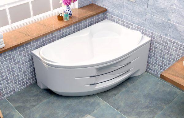 Акриловая ванна BellSan Индиго 160 1600х1005×715