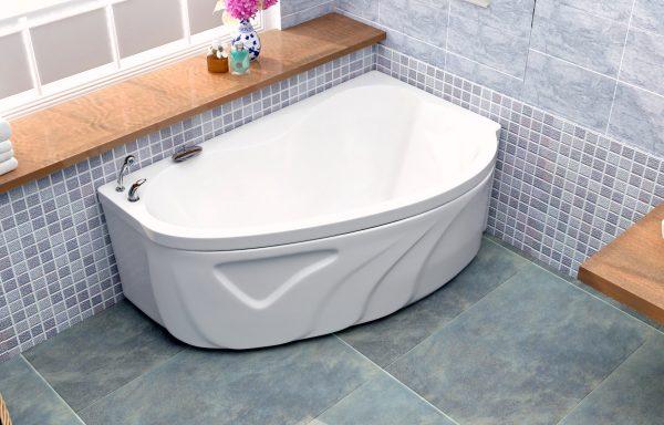 Акриловая ванна BellSan Дарина 1650x1100x620