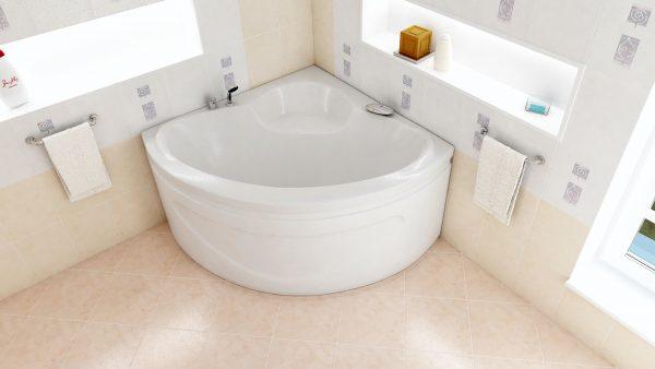 Акриловая ванна BellSan Калипсо 1280x1280x680