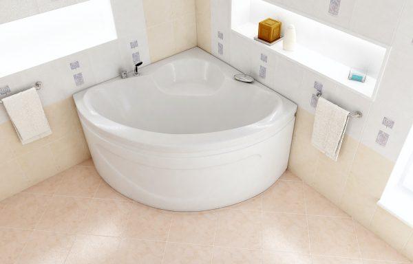 3. Угловые акриловые ванны