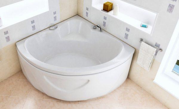 Акриловая ванна BellSan Оливия 1500x1500x640