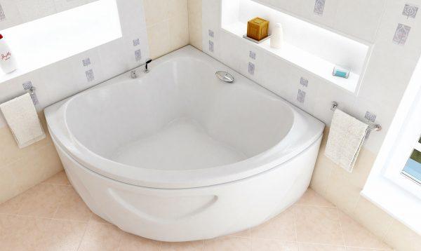 Акриловая ванна BellSan Тера 1500x1500x620