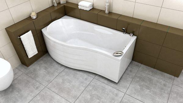 Акриловая ванна BellSan Милен 1900x1090x680
